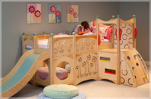 Dormitorios infantil parque