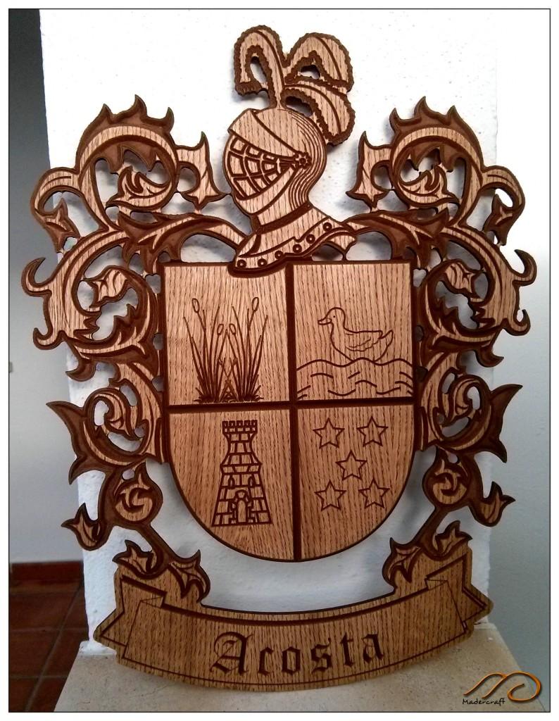 Escudo heraldico Acosta