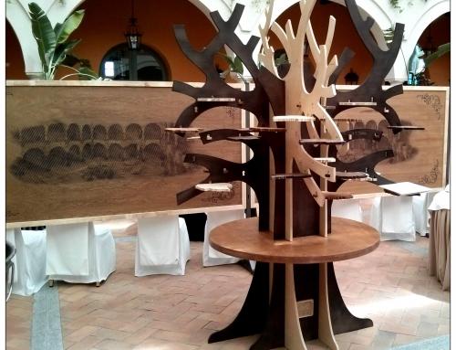 Arbolato, el árbol que sujeta los platos