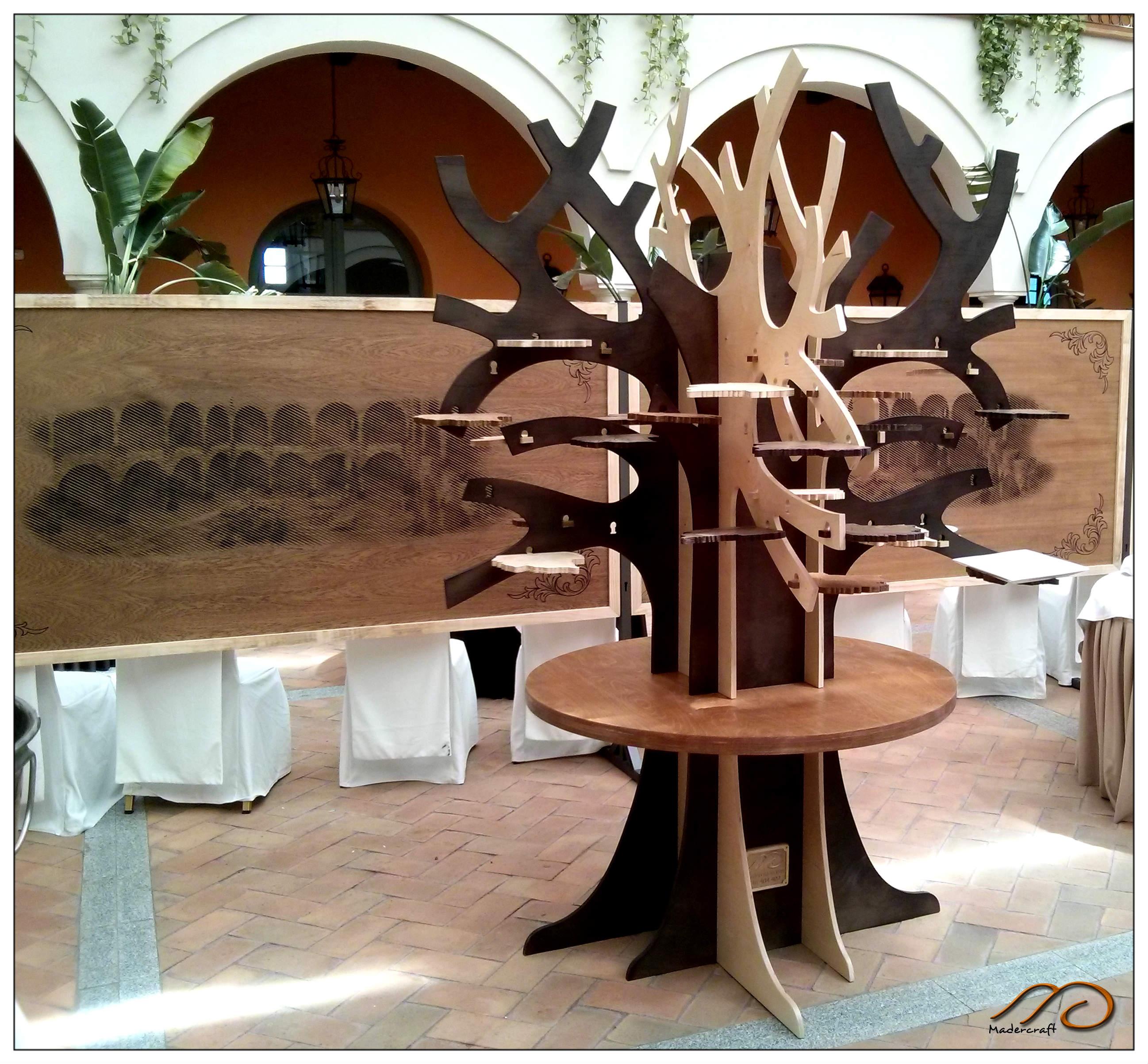 Instalado en el hotel