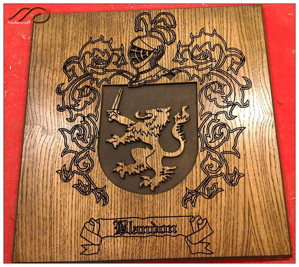 Escudo heraldico Blandon